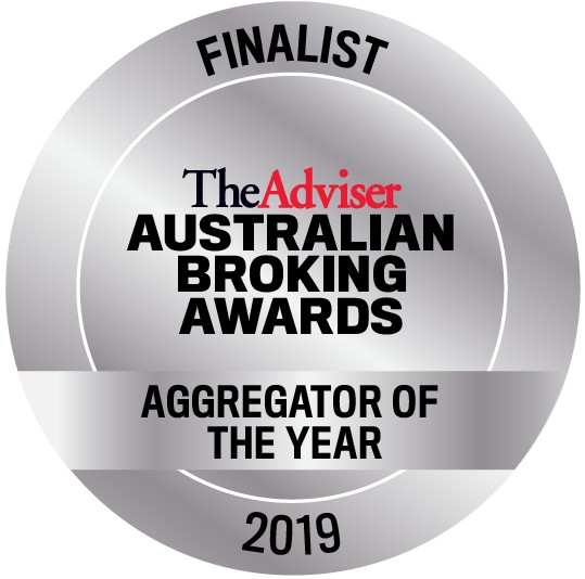 Australian Broking Awards Aggregator of the Year Finalist Badge