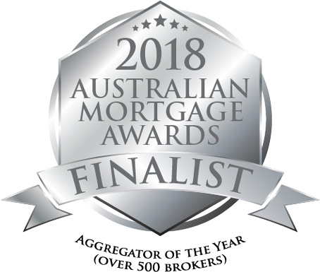 Australian Mortgage Awards Aggregator of the Year Finalist Badge