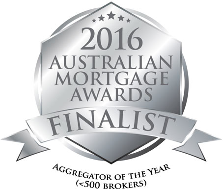 Australian Mortgage Awards Finalist Aggregator of the Year Finalist Badge