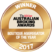 Australian Broking Awards - Winner Boutique Aggregator of the Year 2016